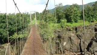 Rope Bridge popularly known as Jhula Pul - 5 Munite Drive from Eternity Hills jnrealty Site.MP4