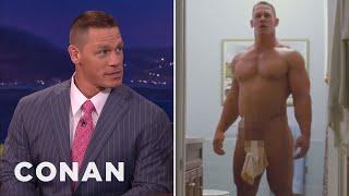 John Cena's Awkward Love Scene  - CONAN on TBS