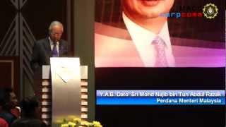 Perdana Menteri Malaysia menyentuh mengenai Kebebasan SPRM