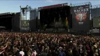 Testament - Live at Wacken 2012 (Full Concert) ᴴᴰ