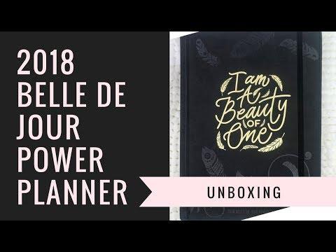 Xxx Mp4 2018 Belle De Jour Power Planner Unboxing BDJ 3gp Sex