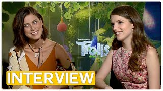 Trolls | Anna Kendrick & Lena Meyer-Landrut | Exclusive Interview (2016)