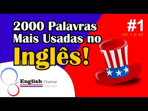 watch 2000 Palavras Mais Usadas Em Inglês Com Tradução - #1 - English Channel