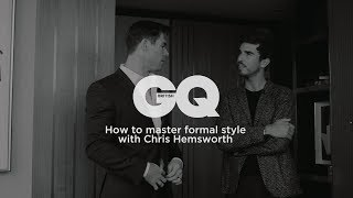 How to master formal style with Chris Hemsworth   British GQ