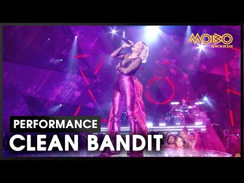 'Rockabye' | CLEAN BANDIT ft. Anne-Marie | live at MOBO Awards | 2016