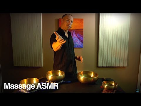 Guided Meditation for Relaxation & ASMR + Tibetan Singing Bowl Music