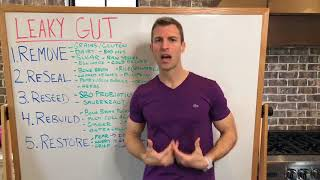 5 Steps To Heal Leaky Gut & Autoimmune Disease With Dr. Josh Axe