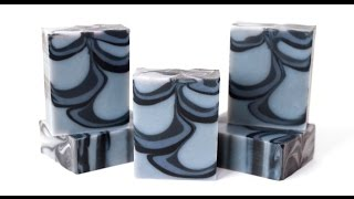 Tall and Skinny Shimmy Cold Process Soap