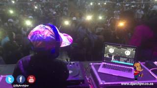 DJ Arch Jnr playing for 25000 people (Dj Nation)