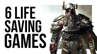 SIX TIMES VIDEO GAMES LITERALLY SAVED LIVES!