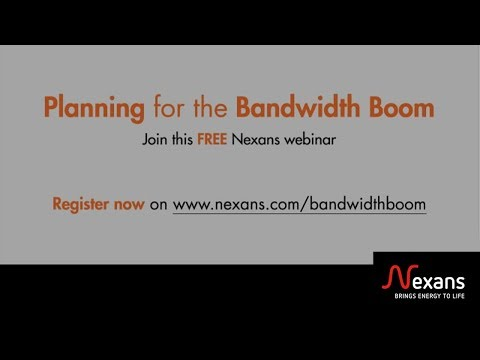 Planning for the Bandwidth Boom