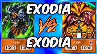 EXODIA vs EXODIA! (Crazy Yugioh Draw Power!)