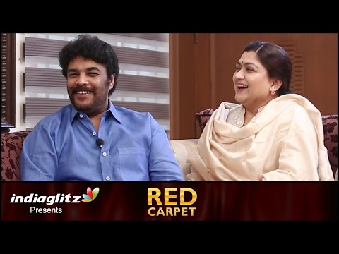Kushboo : I get jealous when other heroines romance Sundar C | Aranmanai 2 Interview by Sreedhar