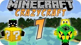 Minecraft CHAOS CRAFT #01 - Die verrücktesten Minecraft Mods!