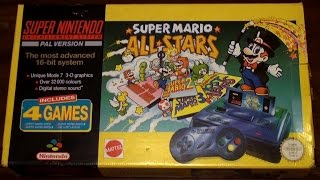 Super Mario All Stars - SNES Console Bundle Review & Unboxing - ProPlanty