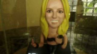 inspired Britney Spears sculpture