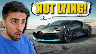Mo Vlogs Bugatti Divo - Faking Delivery