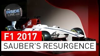 F1 NEWS 2017 - SAUBER: FORCE ACTIVATED [THE INSIDE LINE TV SHOW]