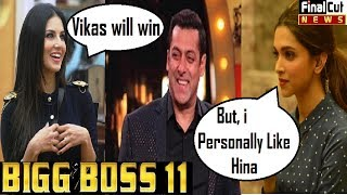 घर में हुई Dipika Sunny की एंट्री   Dipika ने किया Hina Khan To Support   Bigboss11