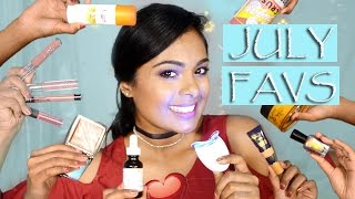 July Favorites - Skincare For Acne Scars, Lipsticks For Brown Girls, How To Buy American Makeup