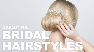 Beautiful Bridal Hairstyles That You Can Do Yourself   Milk + Blush Hair Extensions