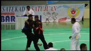 PON XIX Pencak Silat JABAR 2016 (ERI vs Roni)