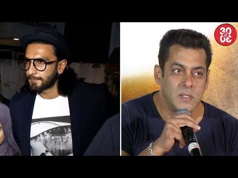 Ranveer Ignores Question About Shahid | Salman Gets Extra Cautious About Future Projects
