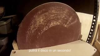 homemade disc sander