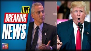 BREAKING: Watch Trump Make a FOOL Out of Rahm Emanuel in Front of America After Horror In Chicago