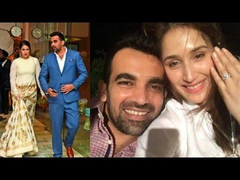OFFICIAL! Zaheer Khan engaged to 'Chak De' actor Sagarika Ghatge