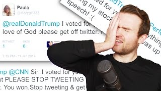 Donald Trump I Voted For You, BUT...