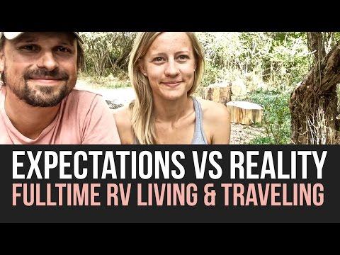 Expectation VS Reality of Fulltime RV Life Q&A a Drivin & Vibin Travel Vlog
