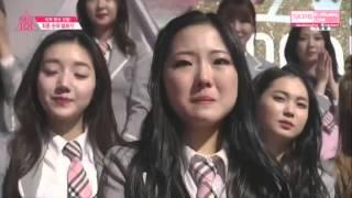 [ENG SUB] Produce 101 - IOI Kim Chungha 김청하 Ranking Announcement Speech