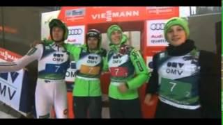 Slovenian team Winner Ski Jumping World Cup 2016