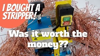 BRAND NEW! Automatic wire stripping machine. Was it worth it? Reselling and scrapping for a living.