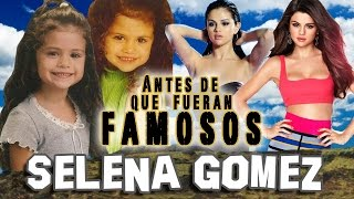 SELENA GOMEZ - Antes De Que Fueran Famosos
