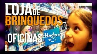 VLOG NA LOJA DE BRINQUEDOS + OFICINAS DIVERTIDAS HASBRO - Luiza Vinco