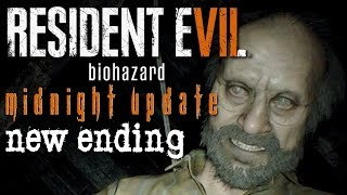 Resident Evil 7 Midnight Update - INFECTED ENDING, Manly Let's Play