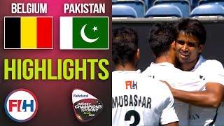 Belgium v Pakistan | 2018 Men's Hockey Champions Trophy | HIGHLIGHTS