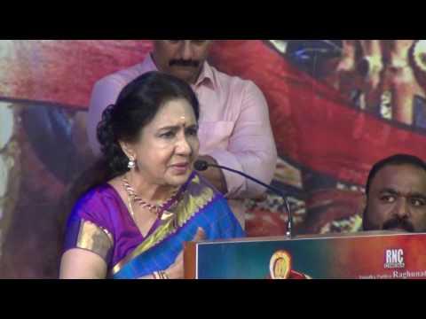 Vennira Aadai Nirmala at Gowthami Pudhra Saathagarni Movie Trailer Launch