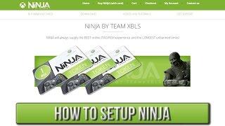 How To Setup NiNJA   XBLS/Xbox Live Stealth [JTAG/RGH]
