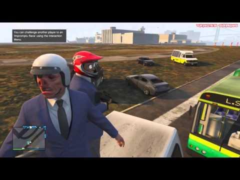 GTA5 Funny Moments Piggy Hunt Banana Bus And More