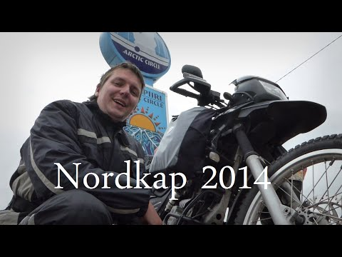 Motorradabenteuer Nordkap 2014   - Allein mit Bike und Zelt die Ostsee rum -