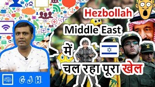 Hezbollah and The current geopolitical game of Middle East. Exactly what happening in Lebanon(Hindi)