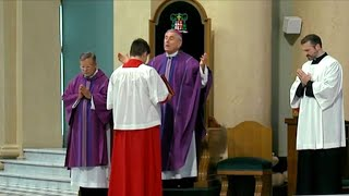 """Catholic churches hold """"Mass of forgiveness"""" after sexual abuse report"""
