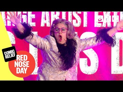 Xxx Mp4 Miss Lois Duval Performs Magic Goes Wrong Comic Relief 2019 3gp Sex