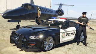 GTA 5 Mods - PLAY AS A COP MOD!! GTA 5 Police Mustang GT Patrol Mod Gameplay! (GTA 5 Mods Gameplay)