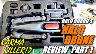 GoPro Karma Killer!? HALO DRONE PRO Review Part 1 - Unboxing Inspection & Setup - A 2018 Best Drone?