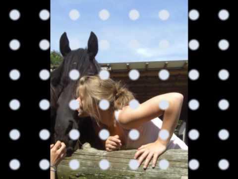 Liebe zwischen Mensch und Pferd.