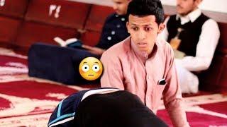 اضحك | اليمني إذا فكر يتوب ورجع يصلي | شاهد ايش يحصل معه ههههه